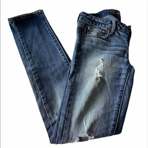 American Eagle   Distressed Stretch Skinny Jeans
